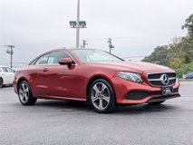 Used 2018 Mercedes-Benz E 400 4MATIC Coupe