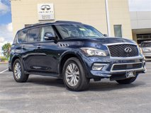 Certified 2017 INFINITI QX80 4WD w/ Driver Assistance Package