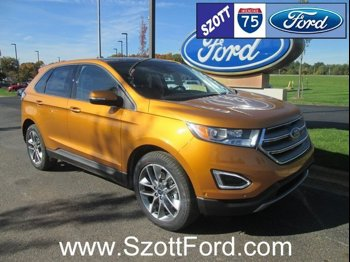 New  Ford Edge Awd Titanium
