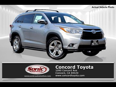 New 2015 Toyota Highlander AWD Limited Hybrid