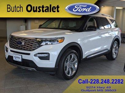 New 2020 Ford Explorer 4WD Platinum - 527763382