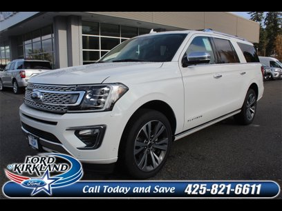 New 2020 Ford Expedition Max 4WD Platinum - 532264908
