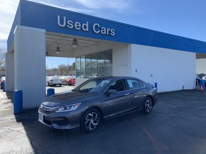 Certified 2017 Honda Accord LX Sedan - 566895432