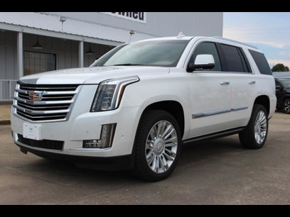 New 2017 Cadillac Escalade 4wd Platinum