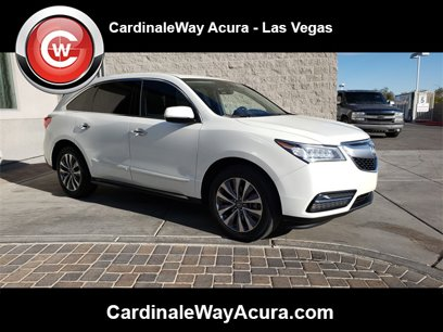 Certified 2016 Acura MDX FWD w/ Technology Package - 545341340