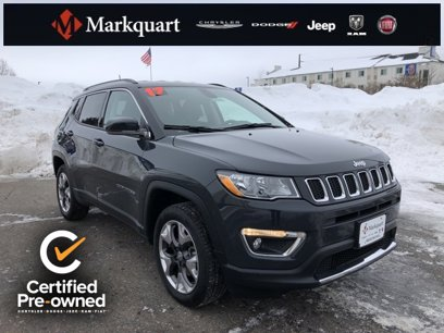 Certified 2017 Jeep Compass Limited - 540098336