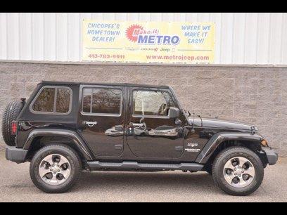 Used 2017 Jeep Wrangler Unlimited Sahara - 533056842