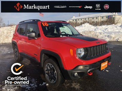 Certified 2016 Jeep Renegade 4WD Trailhawk - 525605290
