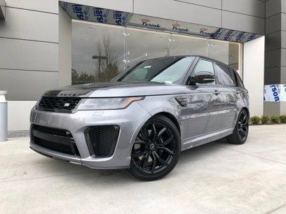 New 2020 Land Rover Range Rover Sport SVR - 548162921