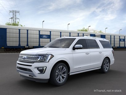 New 2020 Ford Expedition Max 4WD Platinum - 544411996