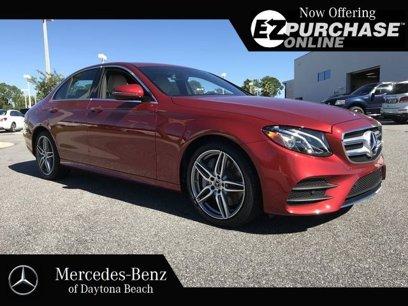 New 2019 Mercedes-Benz E 450 4MATIC Sedan - 497471344