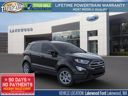 New 2020 Ford EcoSport 4WD SE - 564859421