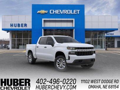 New 2020 Chevrolet Silverado 1500 4x4 Crew Cab Custom - 570367734