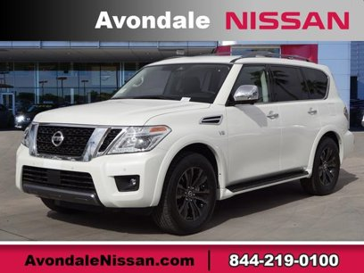 New 2019 Nissan Armada 2WD Platinum - 528422647