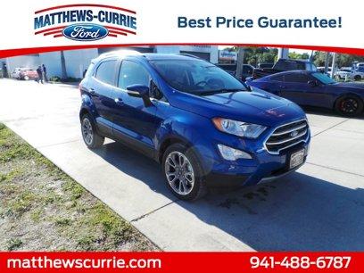 New 2019 Ford EcoSport FWD Titanium - 508259633