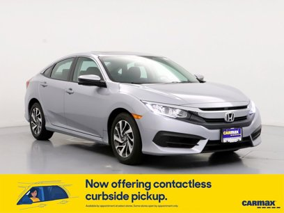 Used 2017 Honda Civic EX Sedan - 563425690