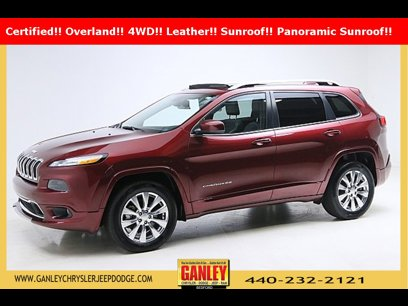 Certified 2018 Jeep Cherokee 4WD Overland - 540808407
