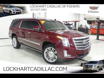 Certified 2016 Cadillac Escalade ESV Platinum - 542060273
