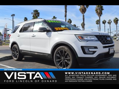 Certified 2017 Ford Explorer FWD XLT - 537020188