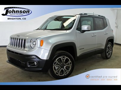 Certified 2018 Jeep Renegade 4WD Limited - 547942686