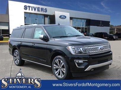New 2020 Ford Expedition Max 4WD Platinum - 544708853