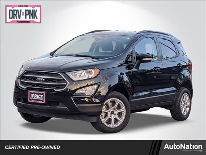 Certified 2018 Ford EcoSport 4WD SE - 564571716