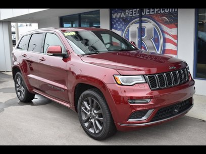 Certified 2019 Jeep Grand Cherokee 4WD Overland - 542121327