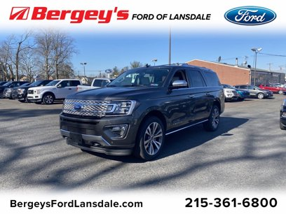 New 2020 Ford Expedition Max 4WD Platinum - 545824774