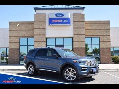 New 2020 Ford Explorer 4WD Platinum - 526737981