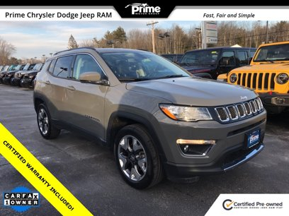 Certified 2019 Jeep Compass Limited - 544672880