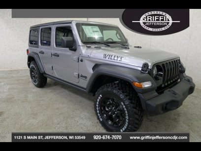 New 2020 Jeep Wrangler 4WD Unlimited Sport - 535264462