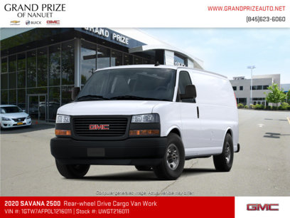 New 2020 GMC Savana 2500 - 547566433