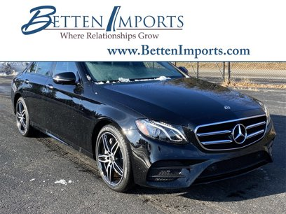 New 2020 Mercedes-Benz E 350 4MATIC Sedan - 532776011