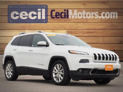 Certified 2015 Jeep Cherokee FWD Limited - 546252389