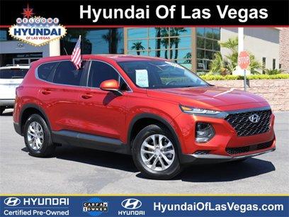 Certified 2019 Hyundai Santa Fe FWD SE - 547625478
