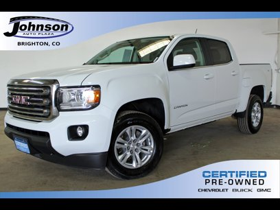 Certified 2019 GMC Canyon 4x4 Crew Cab SLE - 547819275