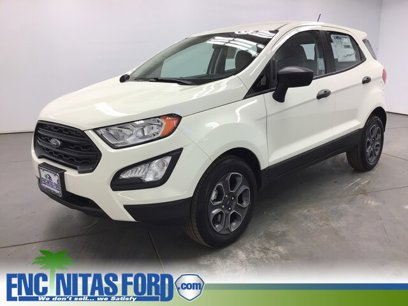 New 2020 Ford EcoSport FWD S - 541321888