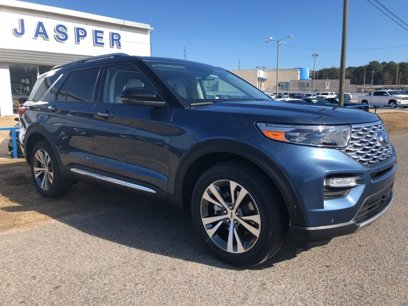 New 2020 Ford Explorer 4WD Platinum - 536055208