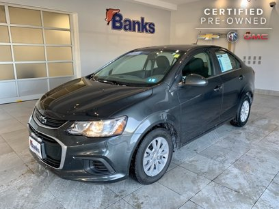 Certified 2019 Chevrolet Sonic LT Sedan - 540744095