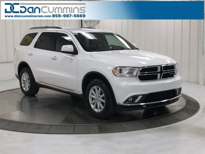 New 2020 Dodge Durango AWD SXT - 527943589