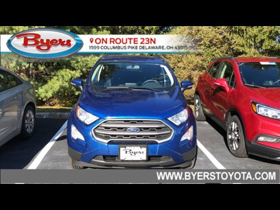 Used 2019 Ford EcoSport 4WD SE - 569912874
