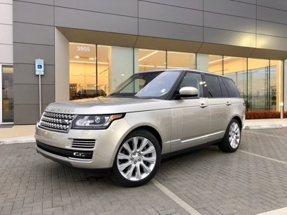 Certified 2017 Land Rover Range Rover Supercharged - 542376636