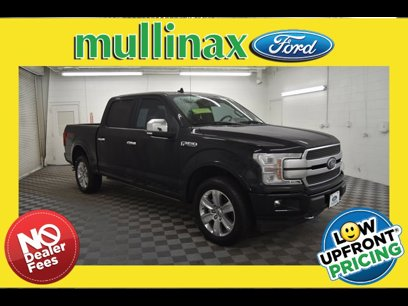 Certified 2019 Ford F150 SuperCrew Platinum - 543241321
