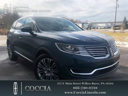 Certified 2016 Lincoln MKX AWD Reserve - 538292046