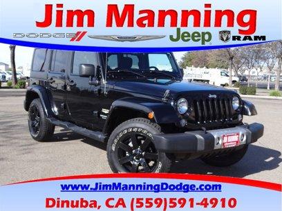 Used 2014 Jeep Wrangler 4WD Unlimited Sahara - 504935870