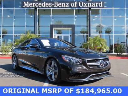 Certified 2016 Mercedes-Benz S 63 AMG 4MATIC Coupe - 546067694