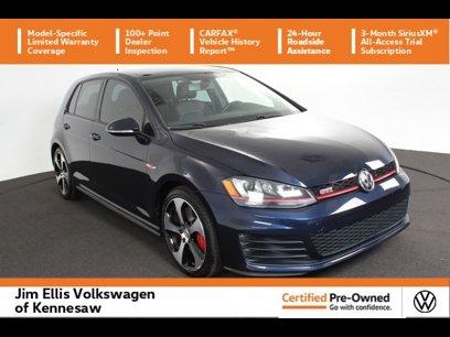 Certified 2017 Volkswagen GTI SE - 564406910