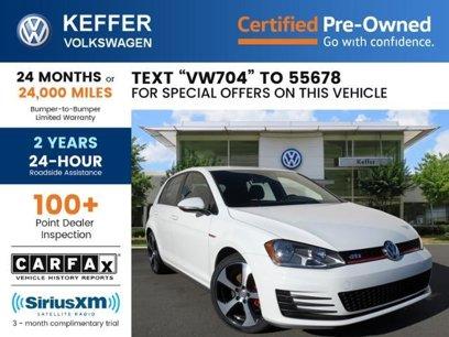 Certified 2017 Volkswagen GTI S - 539939192