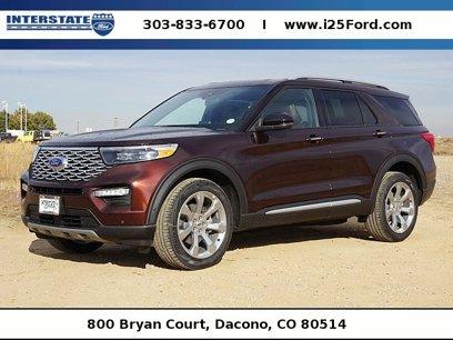 New 2020 Ford Explorer 4WD Platinum - 534327587