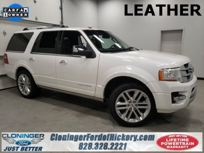 Used 2017 Ford Expedition 4WD Platinum - 545082077